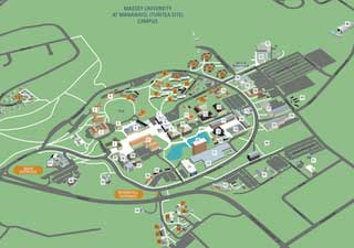Download a map of the Manawatu campus