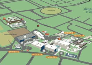 Download map of Wellington campus