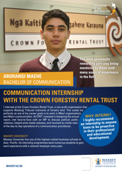 Arorangi at Crown Forestry Rental Trust