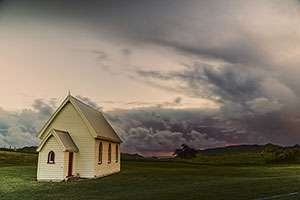 New Zealand church
