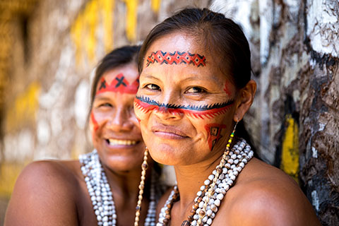Indigenous Brazilian women
