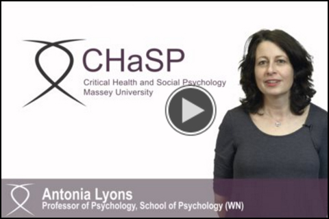video presentation of CHaSP research