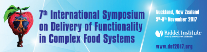 International symposium on delivery of functionality in complex food systems
