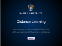 Distance Learning Readiness Quiz