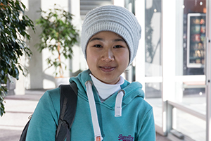 Sun Yun Phee, food technology student at Massey University
