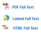 image of HTML and PDF full text links and icons