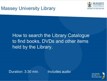 Library Catalogue Demonstration