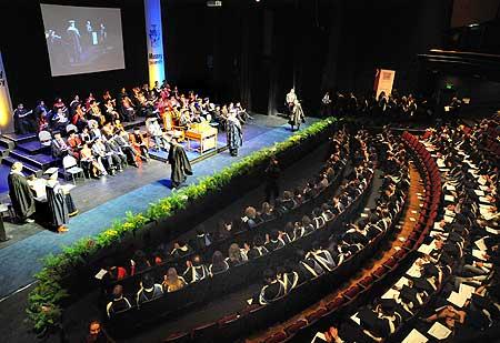 Auckland campus graduation week underway despite elements - University of auckland swimming pool ...