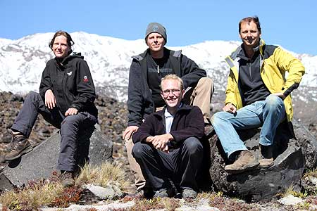 Researchers from Volcanic Risk Solutions
