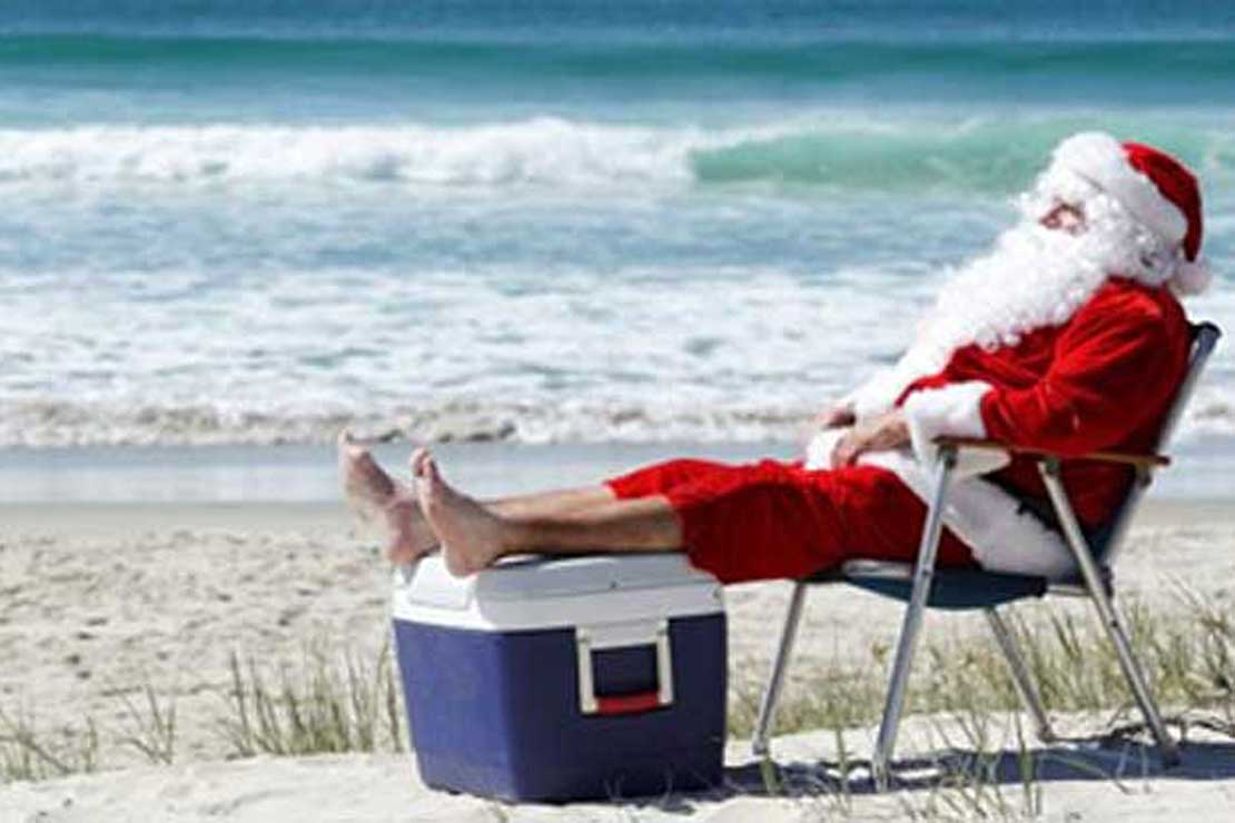 Santa in summer roho4senses santa in summer spiritdancerdesigns Image collections