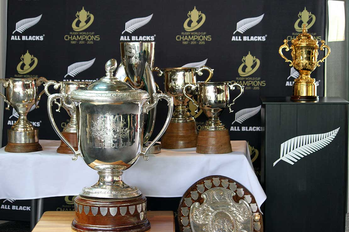 Capital Gains >> Sport and Rugby Institute cups runneth over - Massey University