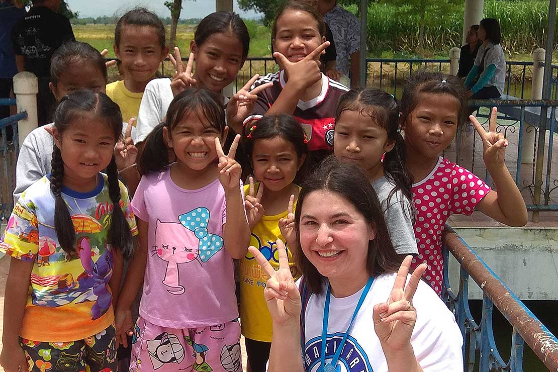 df2c512cd Social work student relishes rare opportunity in Thailand - Massey ...