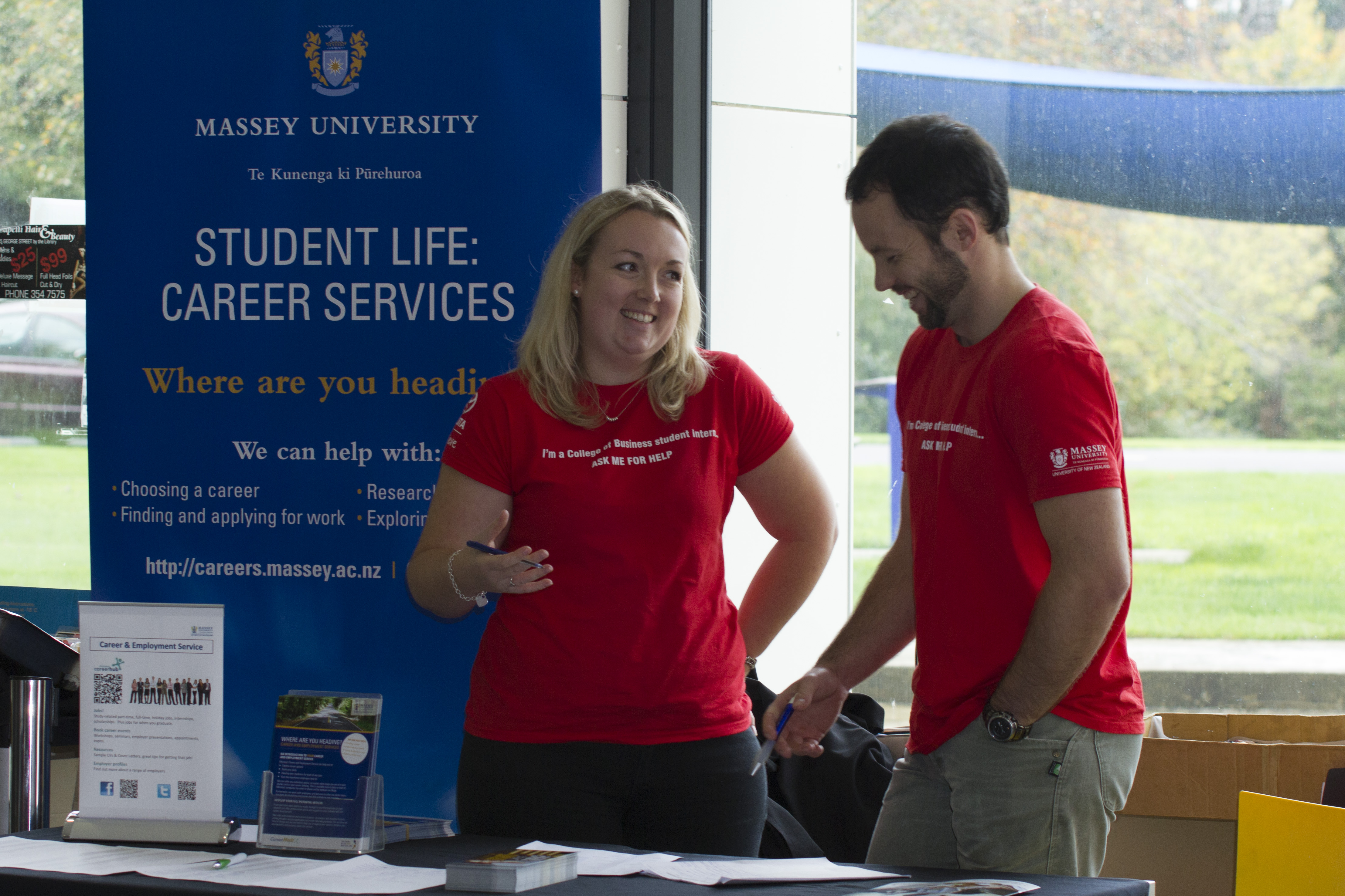 volunteering massey university