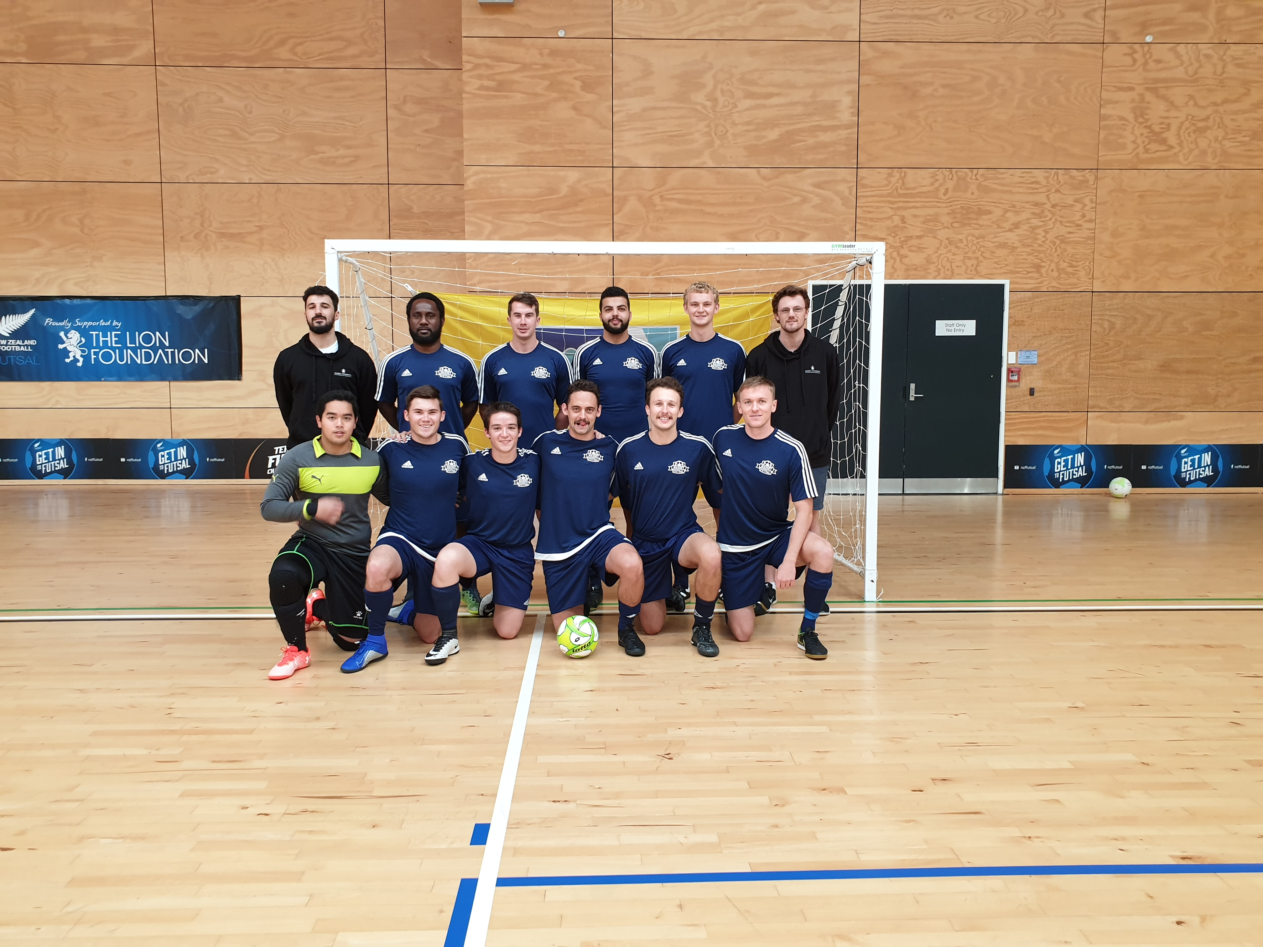 Men''s Futsal Team Photo