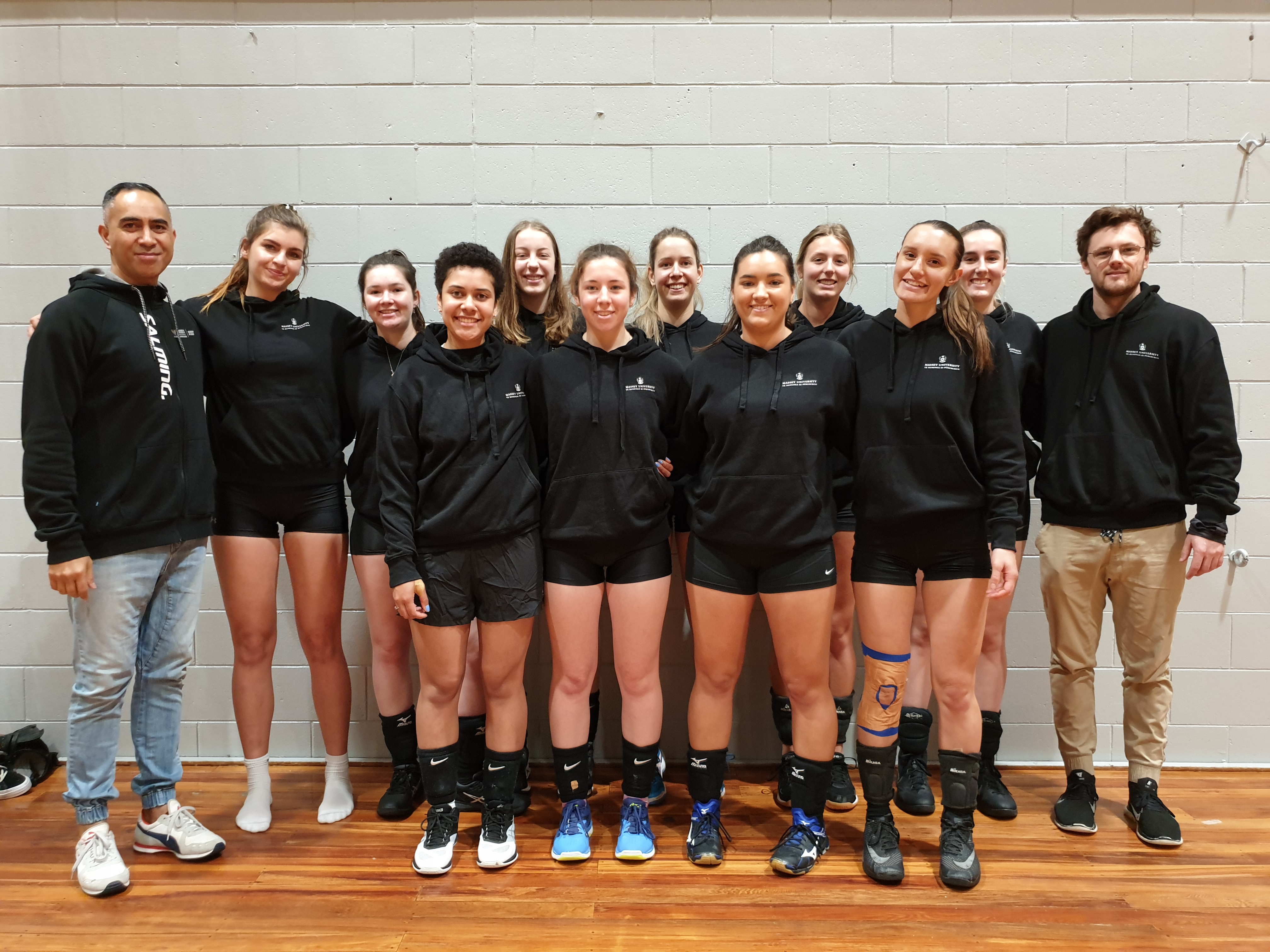 Women''s Volleyball Team Photo