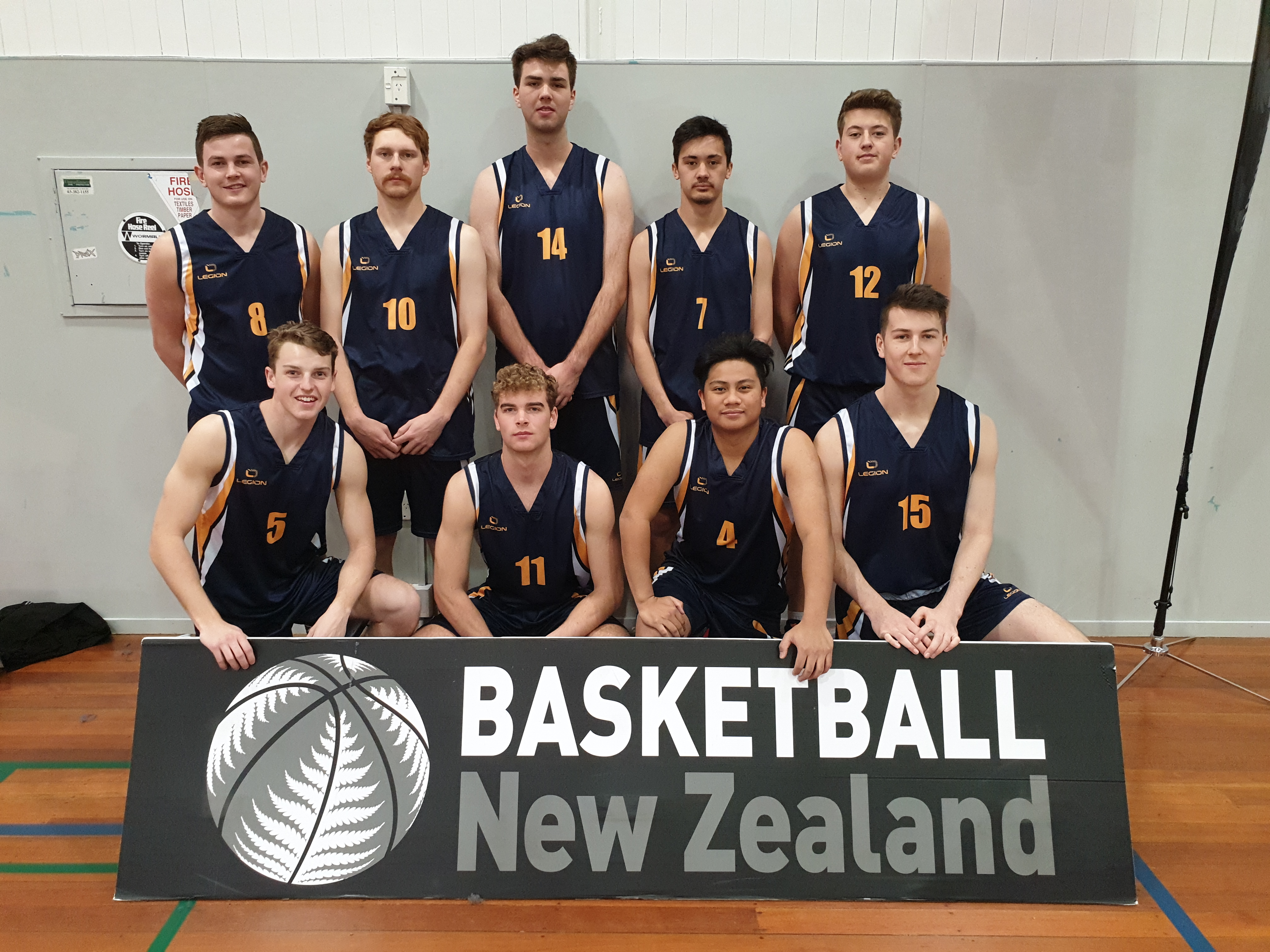 Men''s Basketball Team Photo