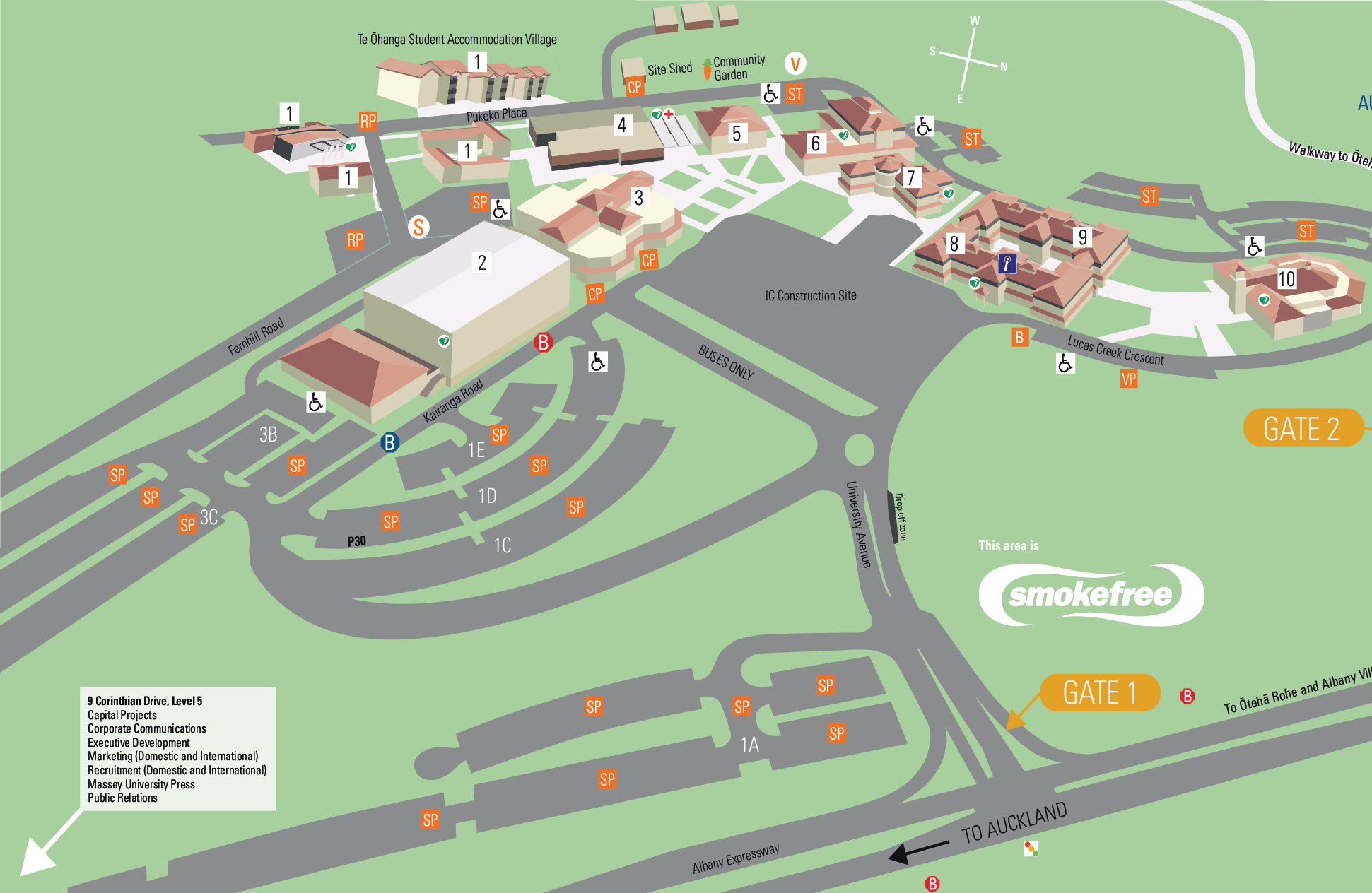 massey albany campus map Auckland Massey University massey albany campus map