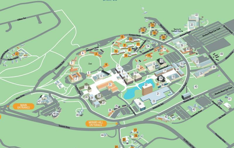 Welcome To Manawatu Campus Massey University - Map of all colleges and universities in the us