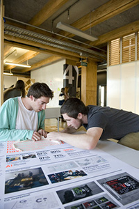 Design students