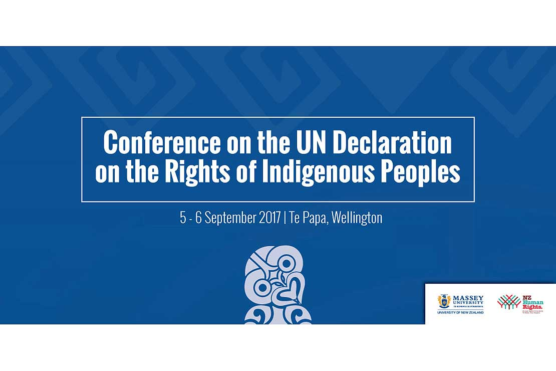 Conference to mark indigenous rights milestone