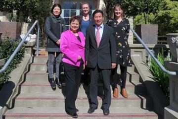 Ambassador of Vietnam visits Massey campus