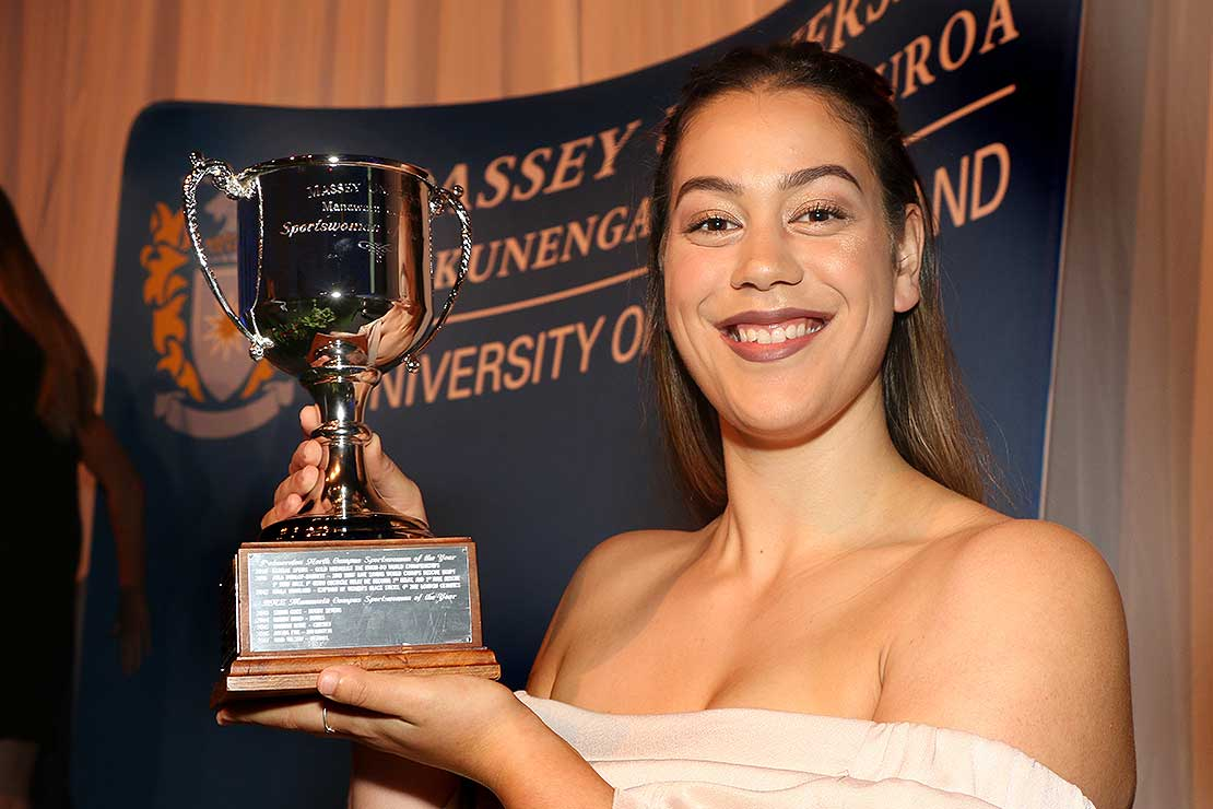 Juggling study and sport pays off for Massey students