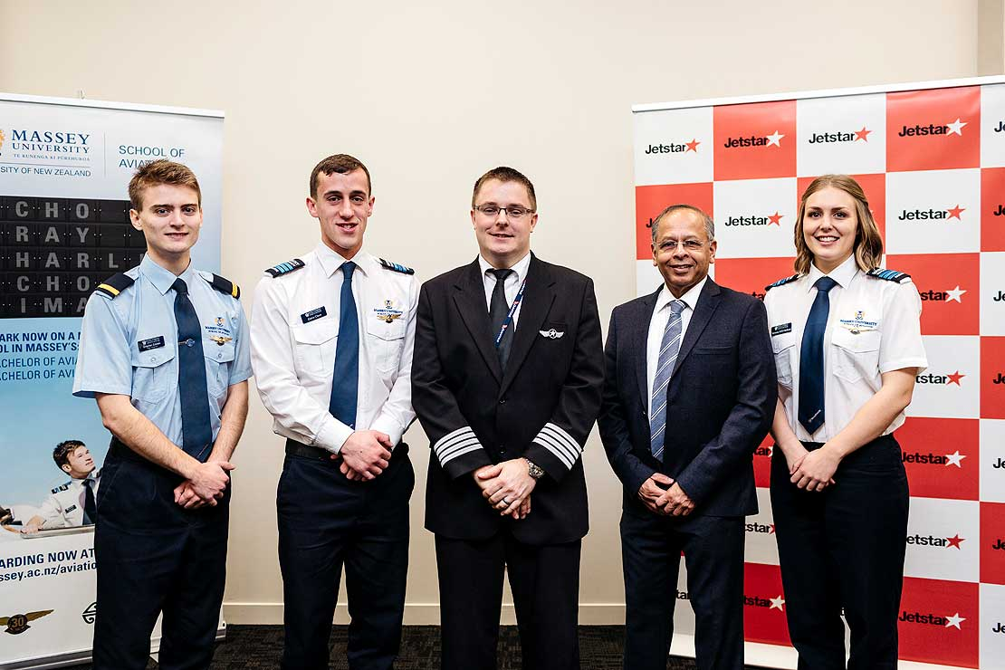 First aviation students chosen for Qantas programme