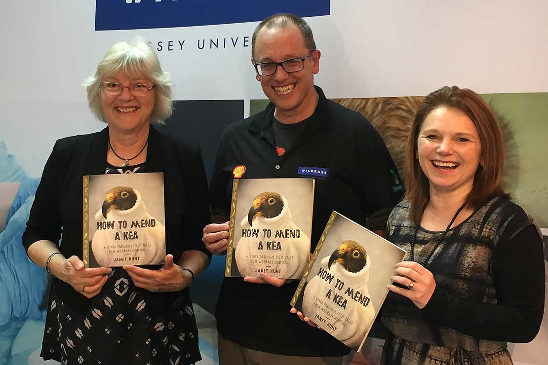 Children's book celebrates wildlife hospital