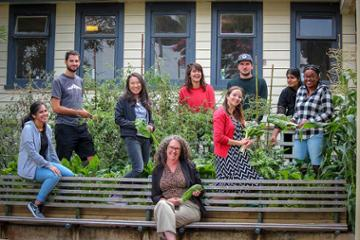 Green-fingered PhD students get satisfaction from shared garden