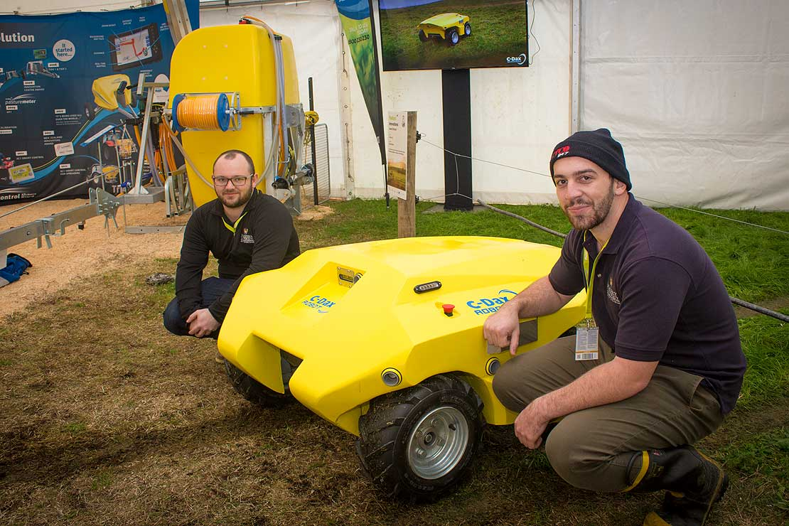 C-Dax pasture metre robot at Fieldays