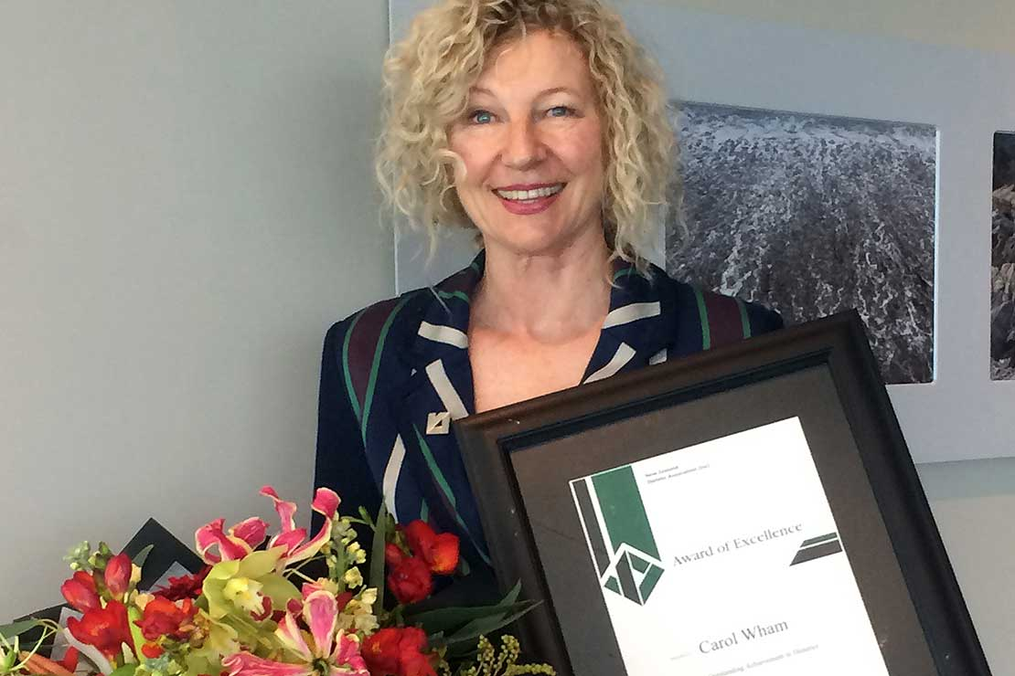 Dr Wham awarded Dietitians NZ Award of Excellence
