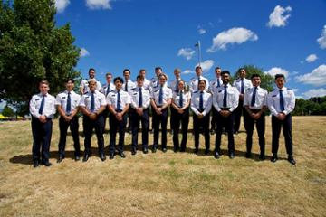 Multiple aviation students soar with success at Wings ceremony