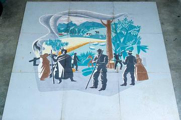 Mural search finds missing E Mervyn Taylor work