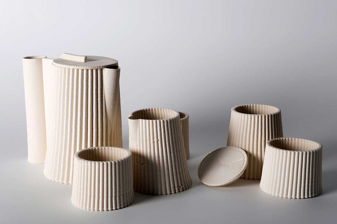 3D Printed Ceramics by Zöe Lovell-Smith